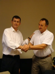 Presidential Badge Handover for the working year 2011/2012